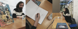MPC organiza la firma de libros del Youtuber Loulogio