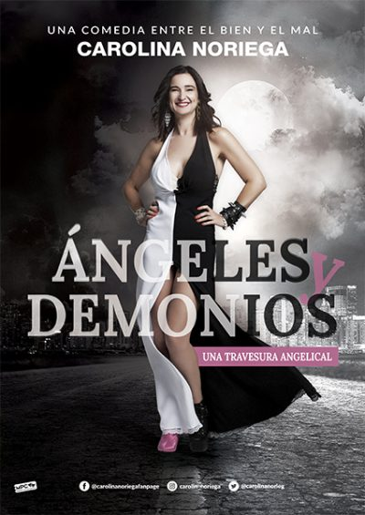 Ángeles o demonios, el nuevo espectáculo de Carolina Noriega