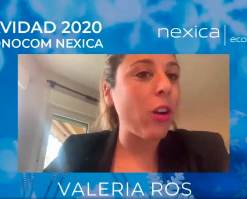 Valeria Ros, evento de empresa para Nexica