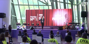 Víctor Parrado en Los Premios Nº1 de CADENA 100