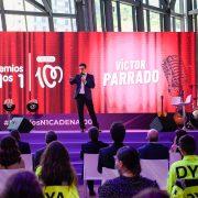 Víctor Parrado en Los Premios Nº1