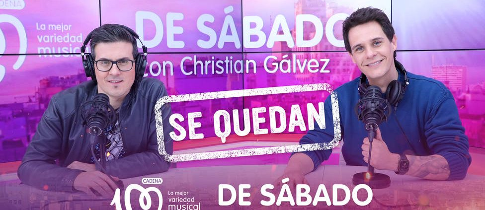 """Renueva """"De sábado con Christian Gálvez"""" El programa de radio que presentan Chrisitan Gálvez y Víctor Parrado sigue cosechando éxitos. Renueva y bate records en el EGM. por Parrado"""
